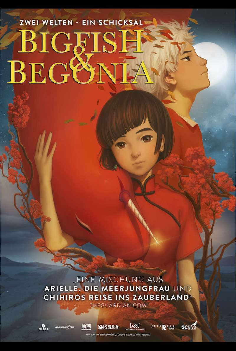 Filmplakat zu Big Fish & Begonia (2016)