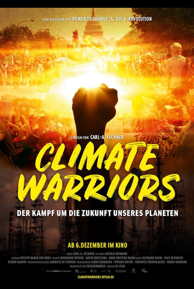 Filmplakat zu Climate Warriors (2017)