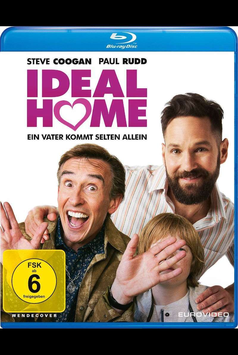 Blu-ray Cover zu Ideal Home (2017)
