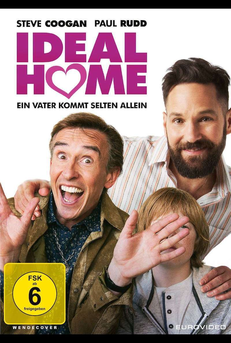 DVD-Cover zu Ideal Home (2017)