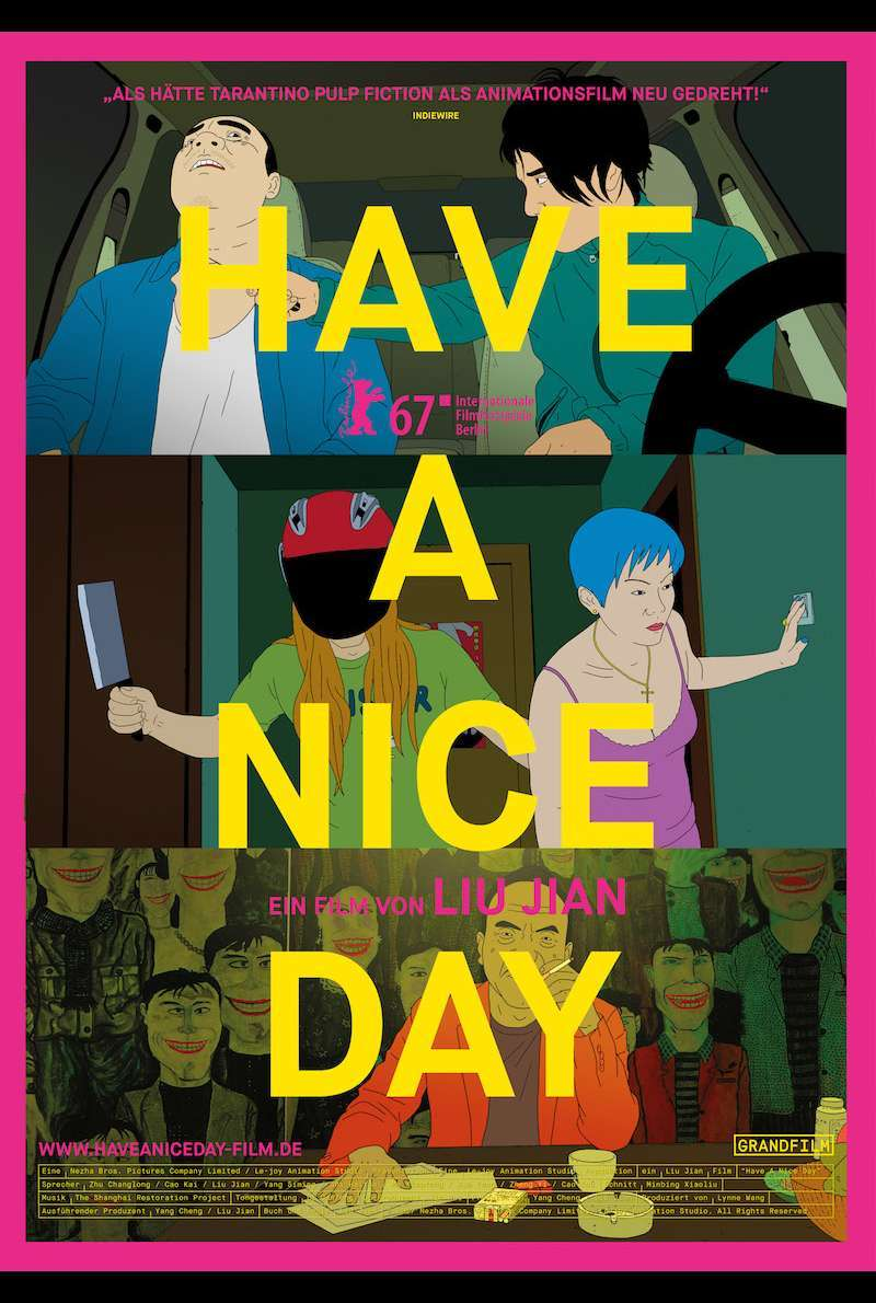 Filmplakat zu Have a Nice Day (2017)