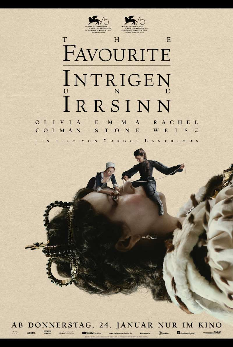 The Favourite Intrigen Und Irrsinn 2018 Film Trailer Kritik