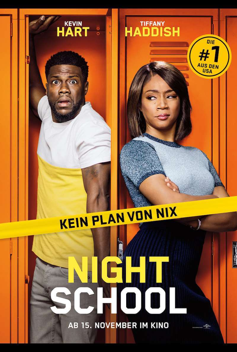 Filmplakat zu Night School (2018)