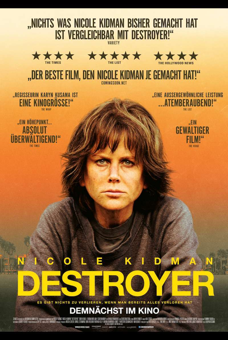Filmplakat zu Destroyer (2018)