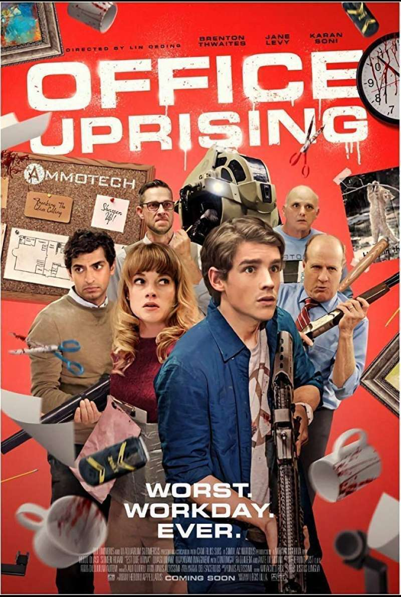 US-Plakat zu Office Uprising (2018)