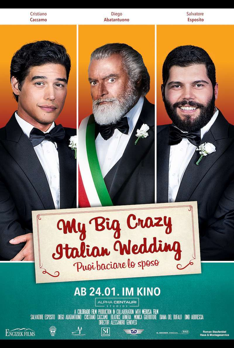 Filmplakat zu My Big Crazy Italian Wedding (2018)