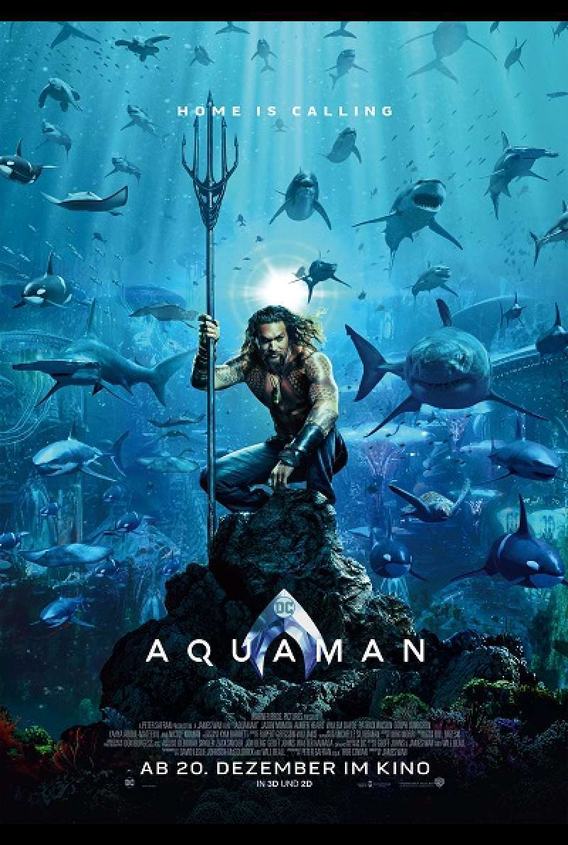 Aquaman von James Wan - Filmplakat