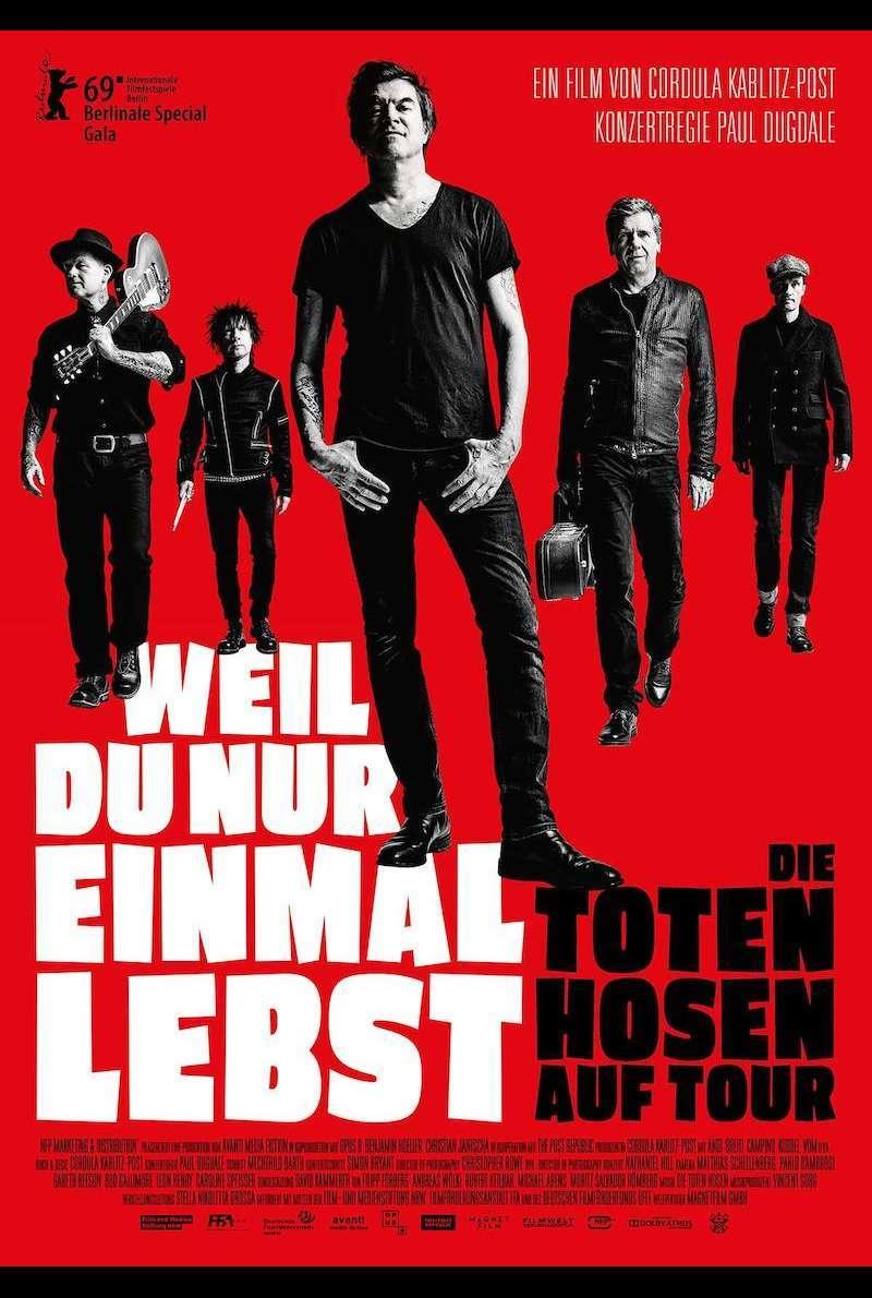 Weil Du Nur Einmal Lebst Die Toten Hosen Auf Tour 2019 Film