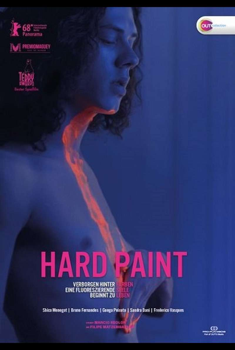 Hard Paint - DVD-Cover