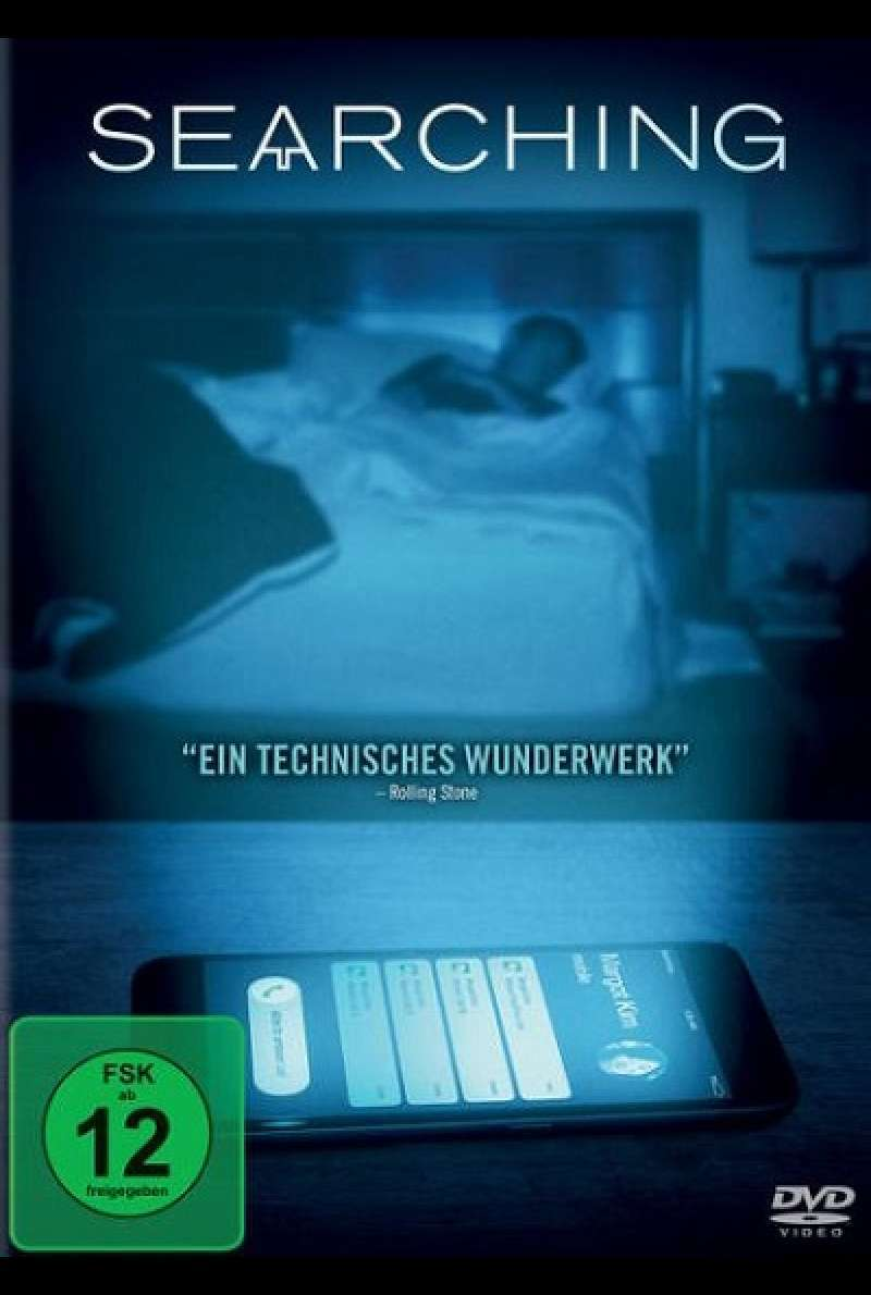 Searching - DVD-Cover