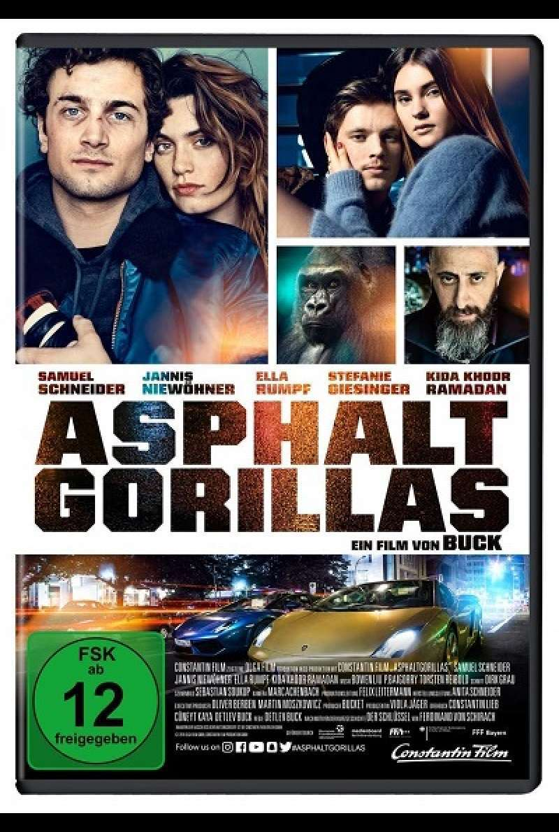 Asphaltgorillas - DVD-Cover