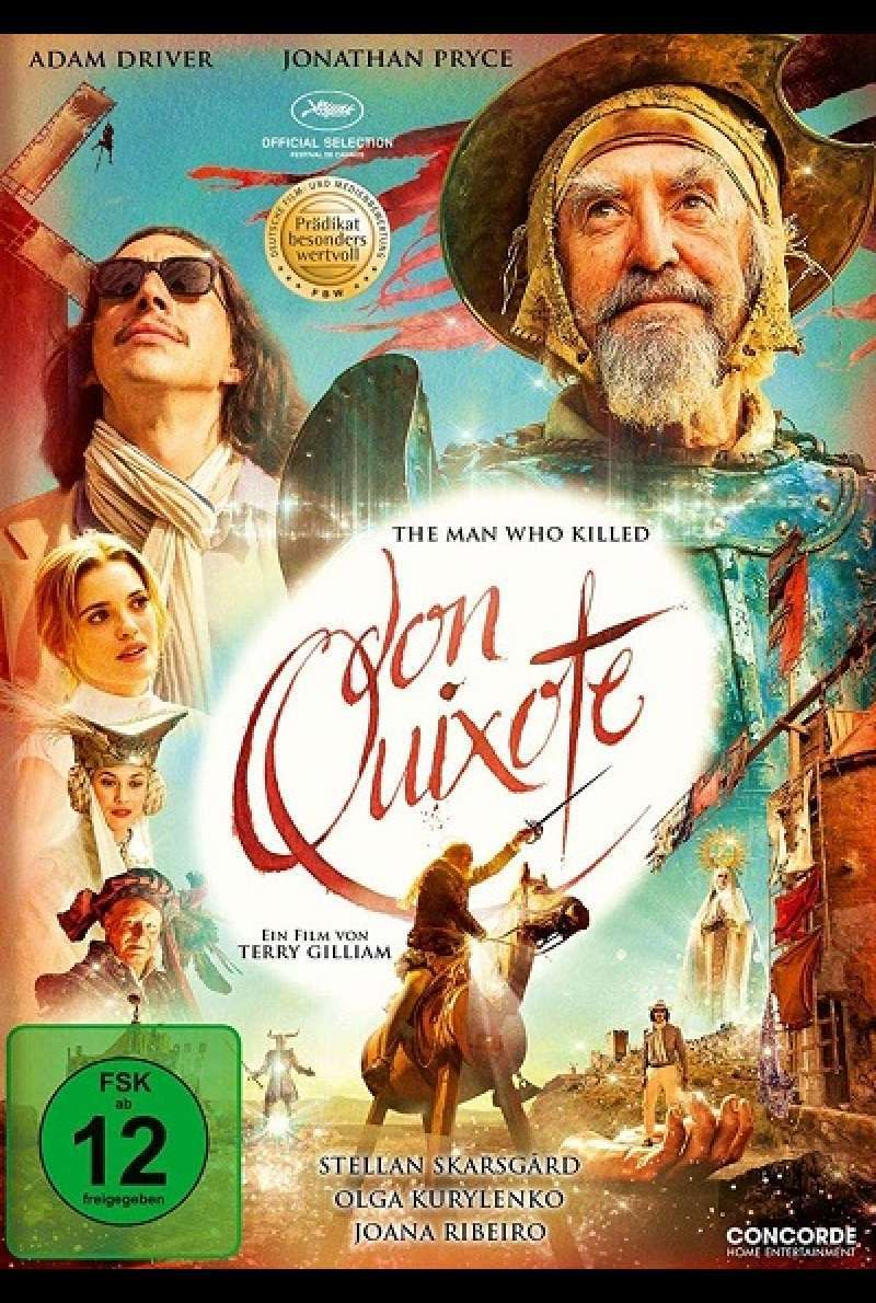 The Man Who Killed Don Quixote - DVD-Cover