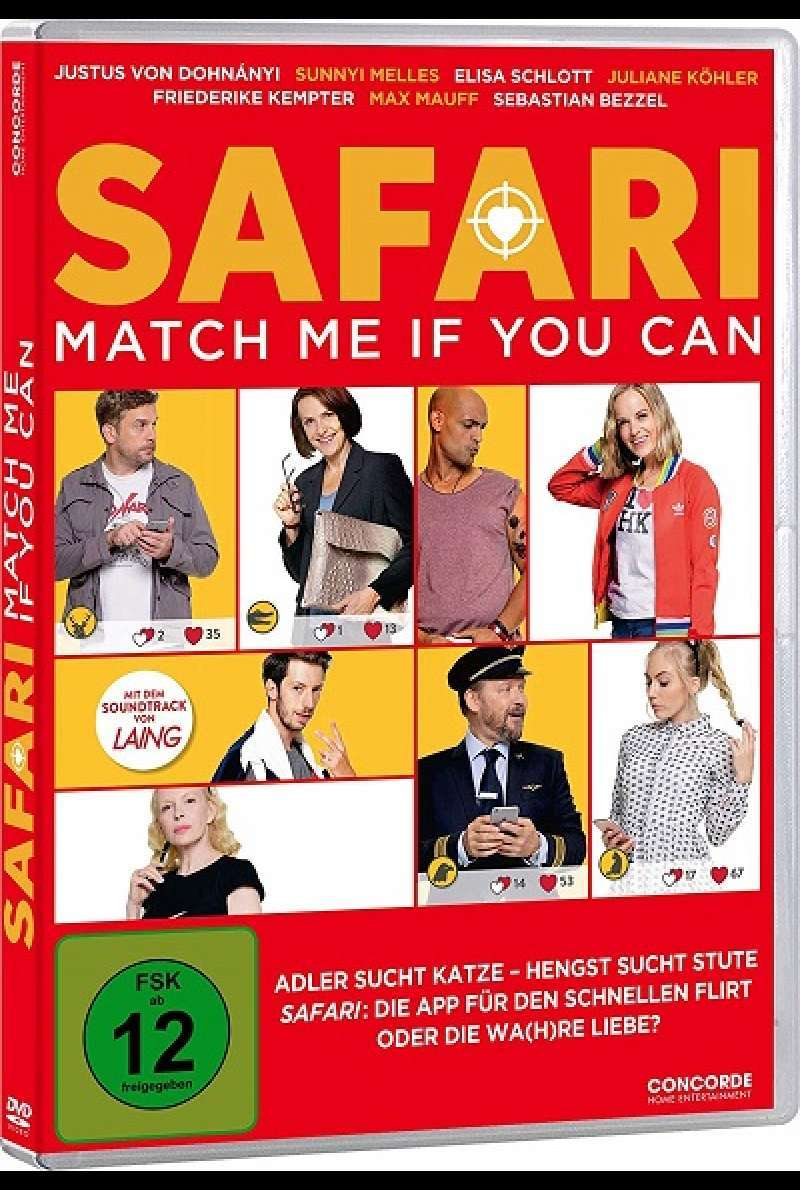 Safari - Match Me If You Can - DVD-Cover