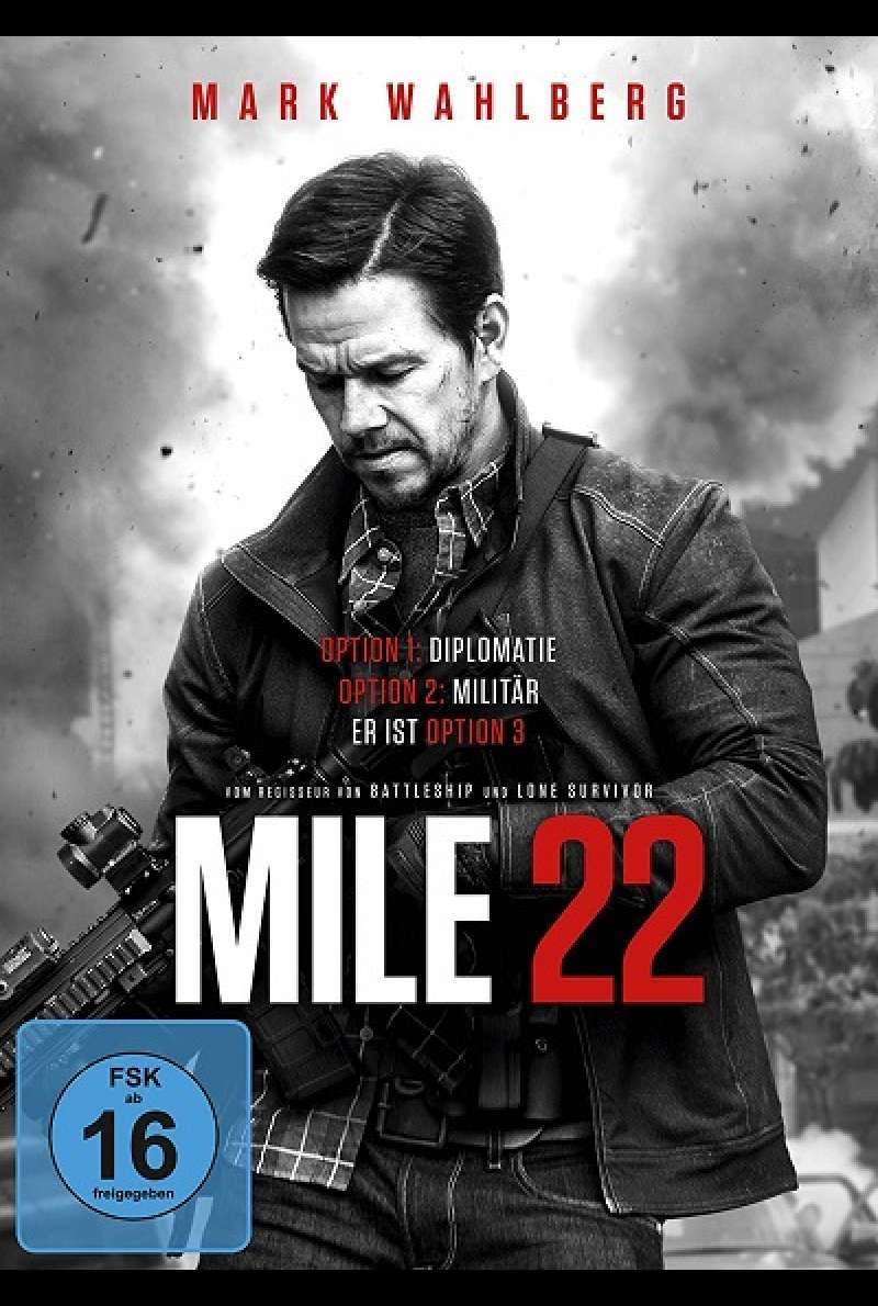 Mile 22 - DVD-Cover