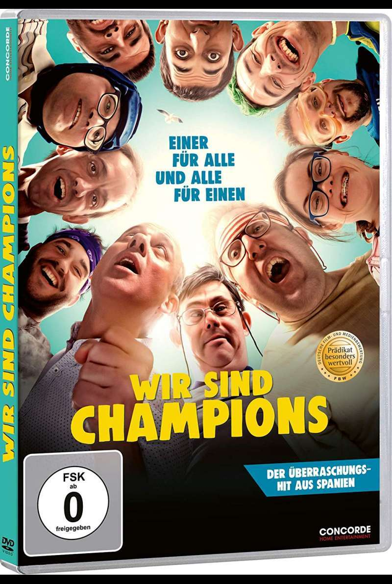 Wir sind Champions - DVD-Cover