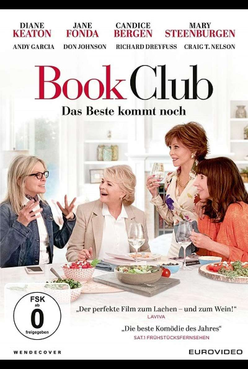 Book Club - DVD-Cover