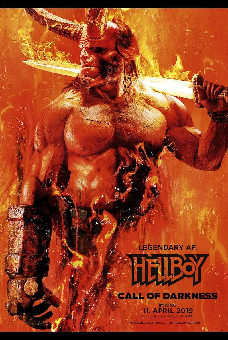 Filmplakat zu Hellboy - Call of Darkness (2019)