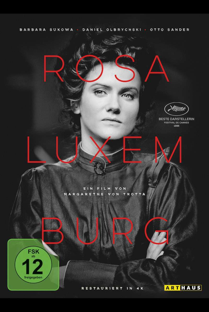DVD-Cover Special Edition zu Rosa Luxemburg (1985)
