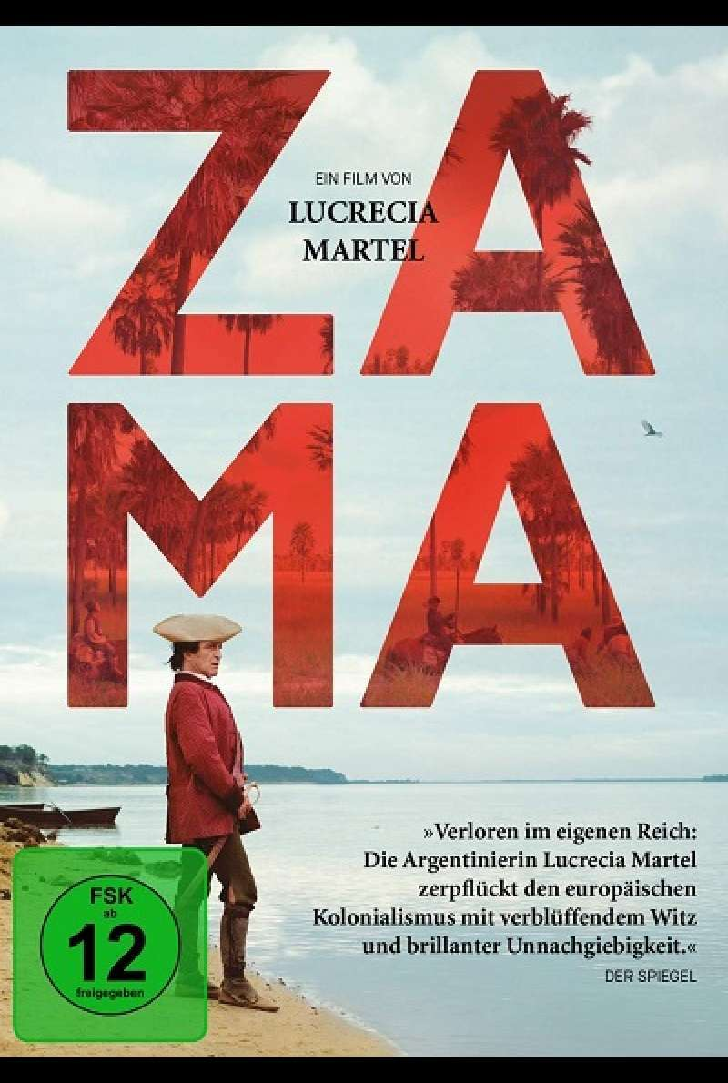Zama - DVD-Cover