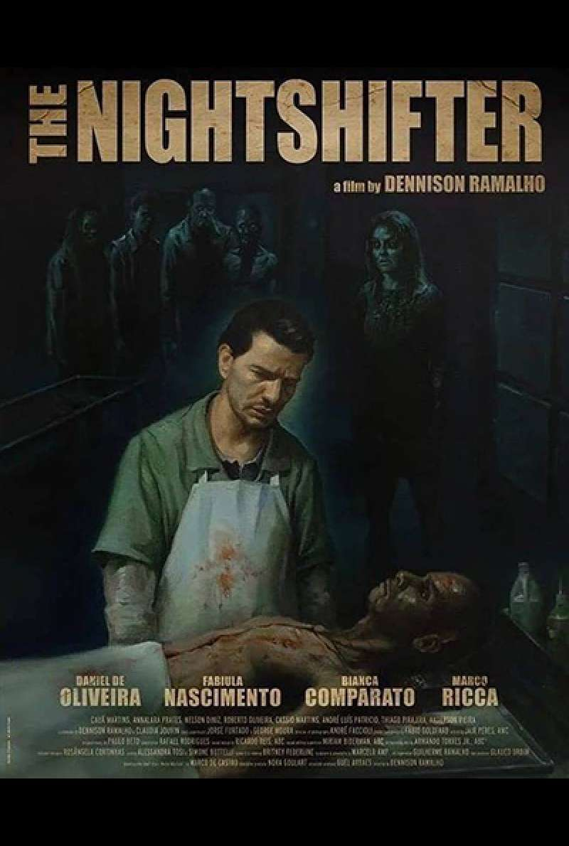 Bild zu The Night Shifter von Dennison Ramalho