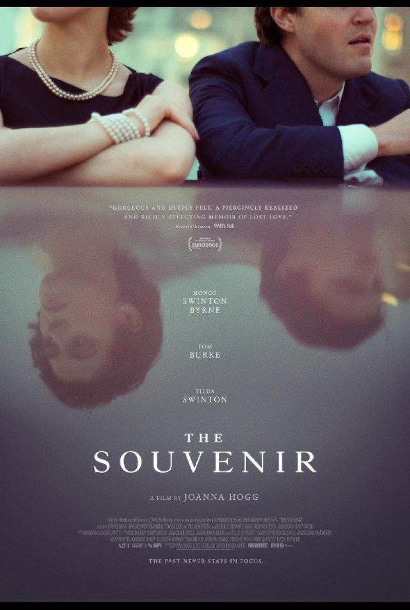US-Plakat zu The Souvenir (2019)