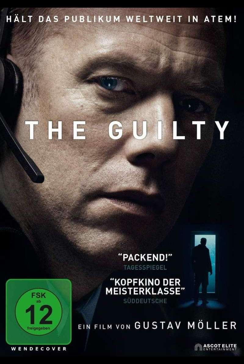 DVD-Cover zu The Guilty (2018)