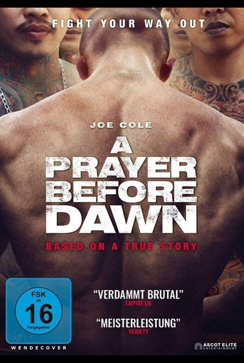 A Prayer Before Dawn - DVD-Cover
