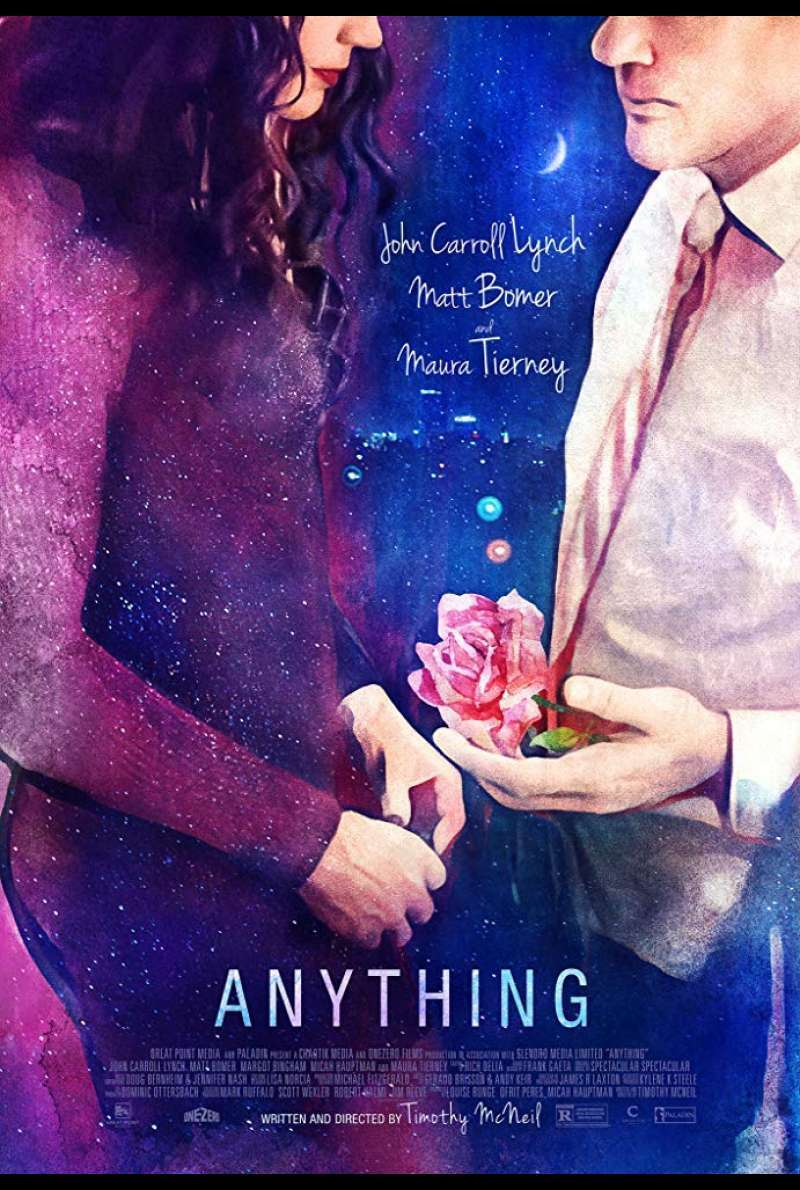 US-Plakat zu Anything (2017)
