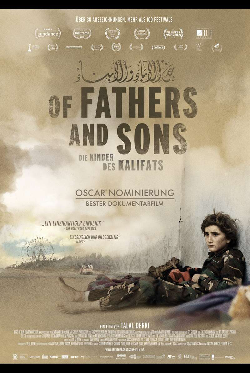 Filmplakat zu Of Fathers and Sons - Die Kinder des Kalifats (2017)