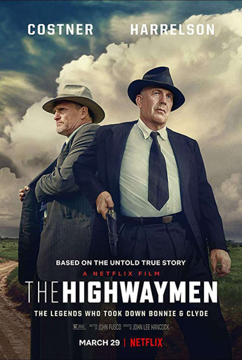 Bild zu The Highwaymen von John Lee Hancock - Filmplakat (US)