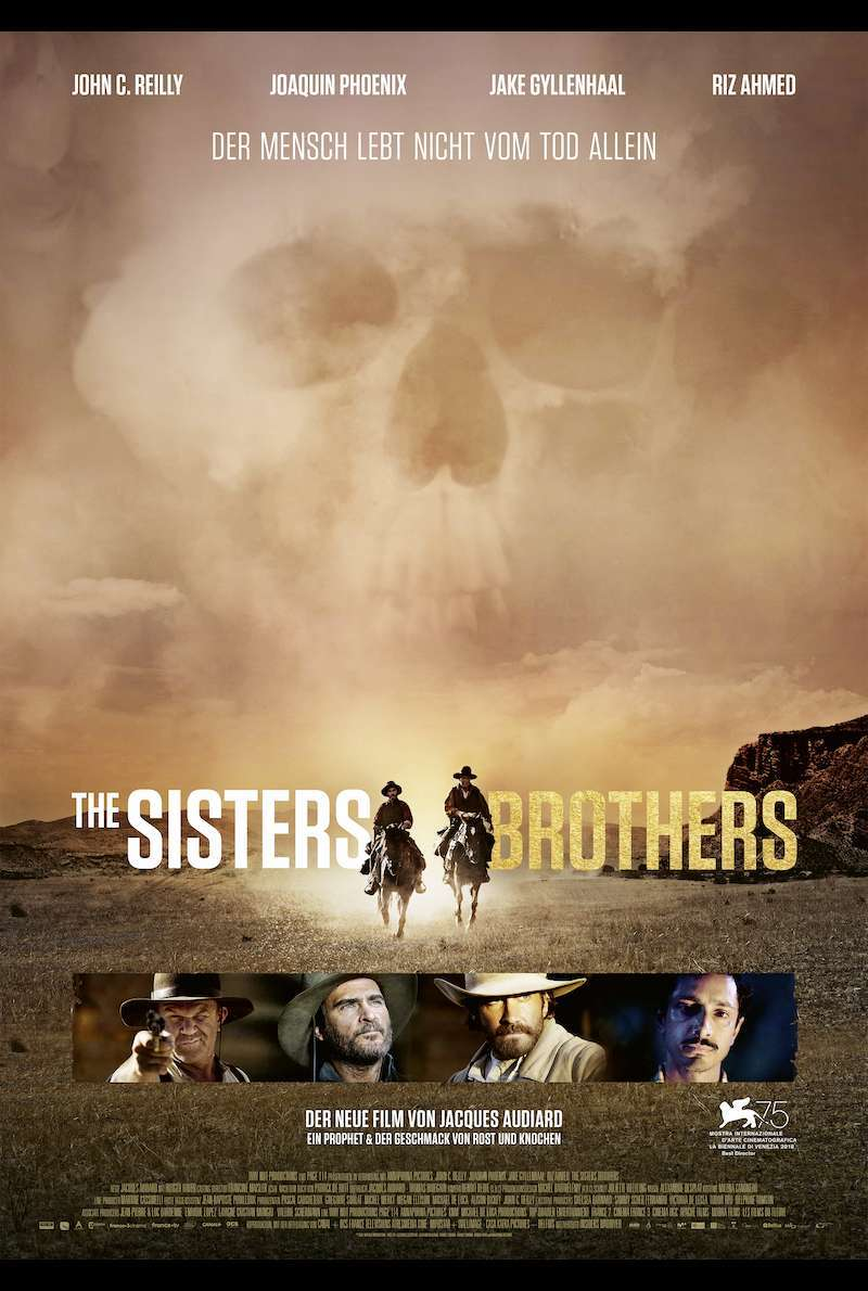 Filmplakat zu The Sisters Brothers (2018)
