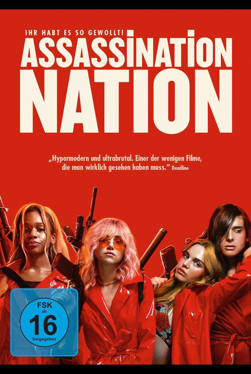 DVD-Cover zu Assassination Nation (2018)