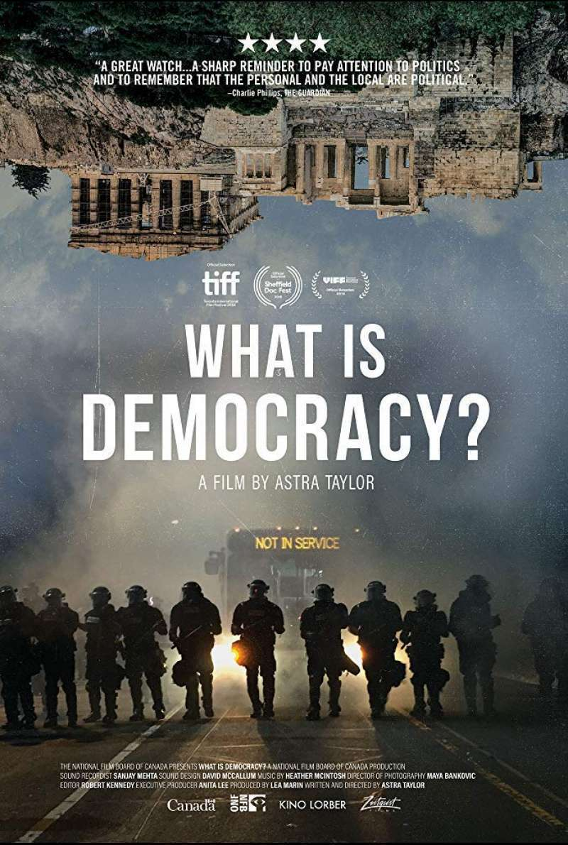 Filmplakat zu What Is Democracy? (2018)