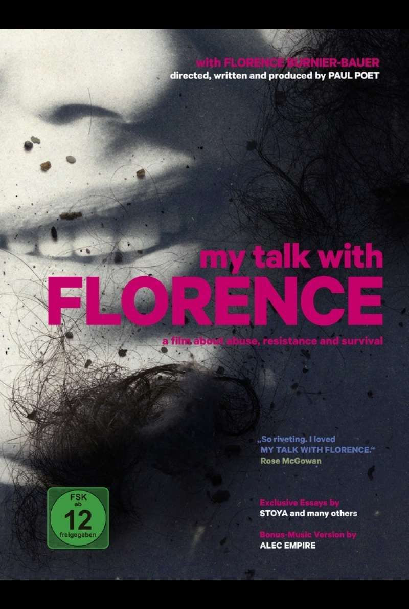 DVD-Cover zu My Talk with Florence (2019)