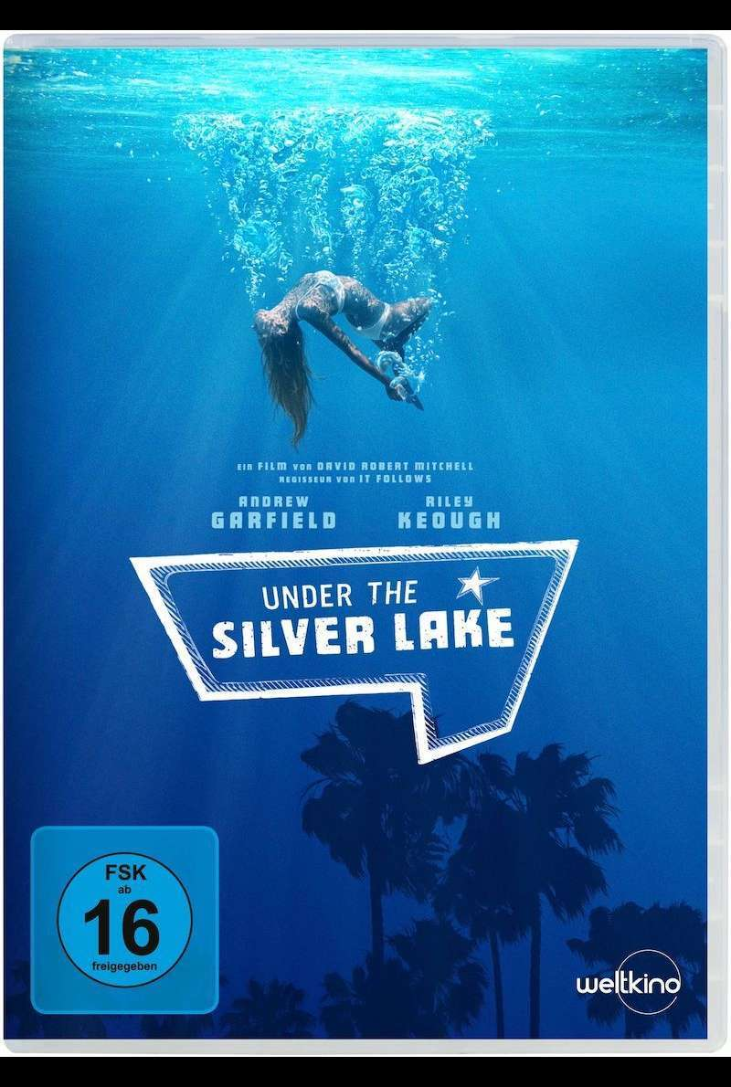 DVD-Cover zu Under the Silver Lake (2018)