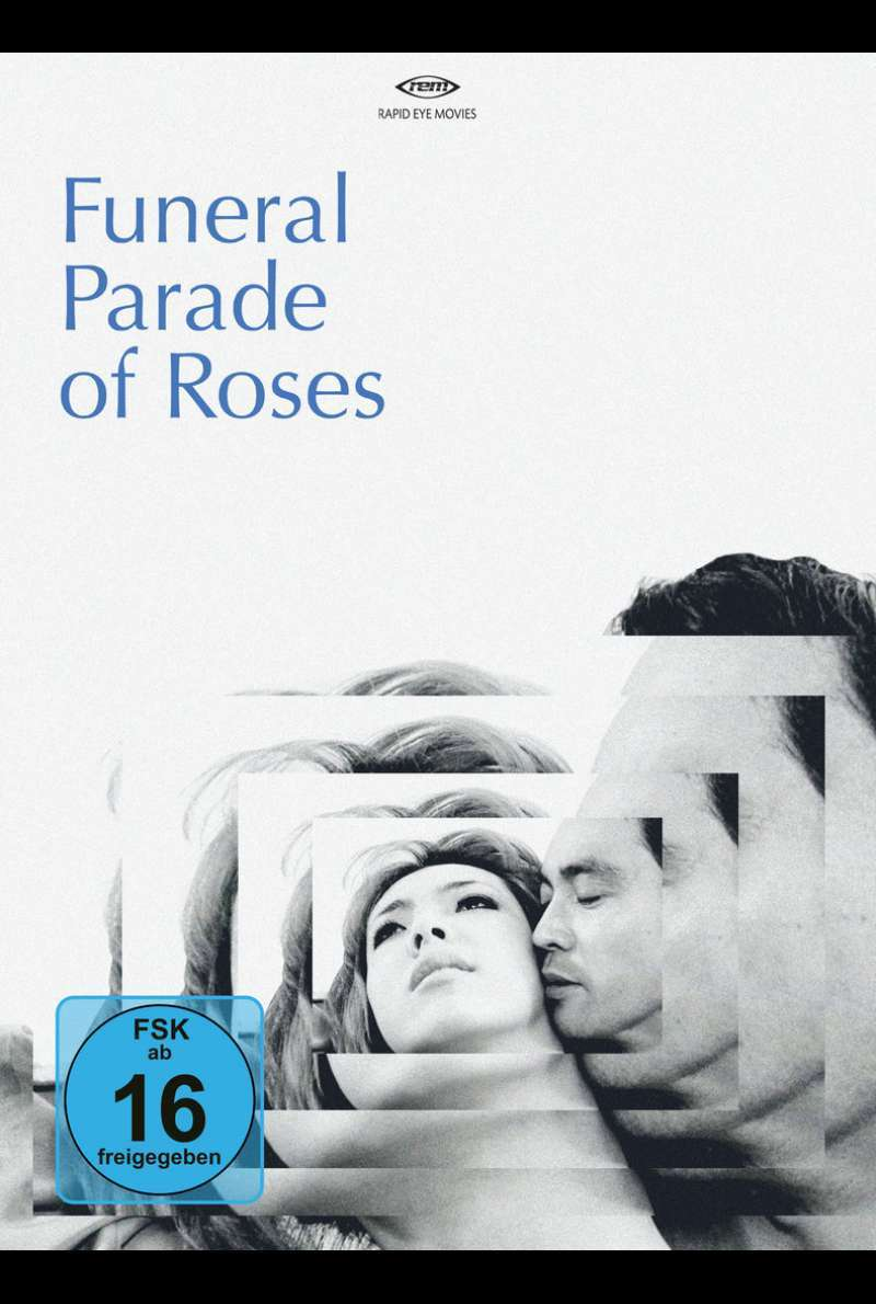 DVD-Cover zu Funeral Parade of Roses (1969)
