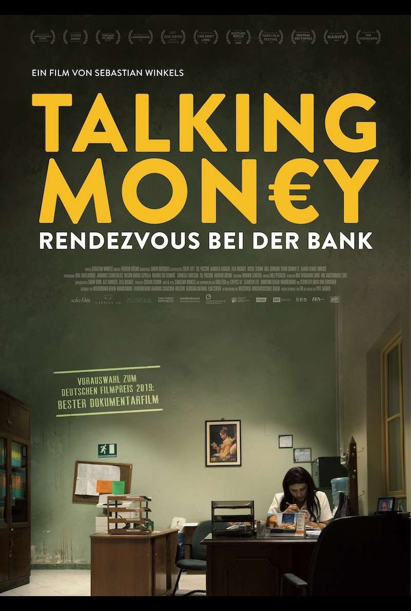 Filmplakat zu Talking Money - Rendezvous bei der Bank (2017)