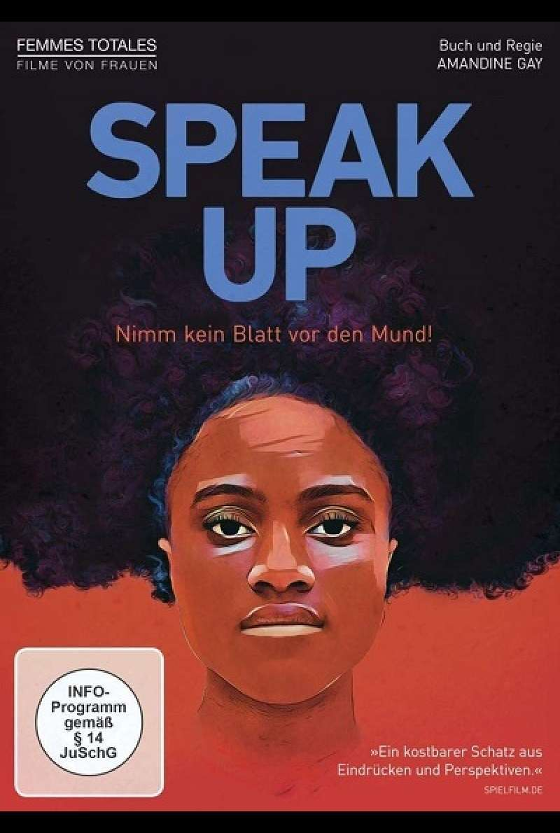 Speak Up - DVD-Cover