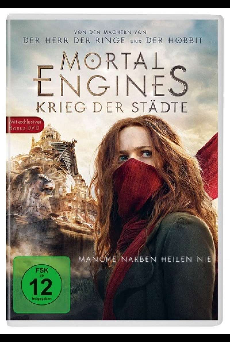 Mortal Engines - DVD-Cover