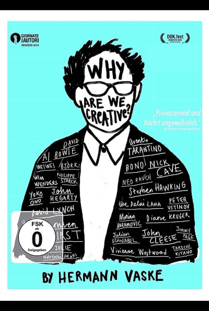 Why are we creative? - DVD-Cover