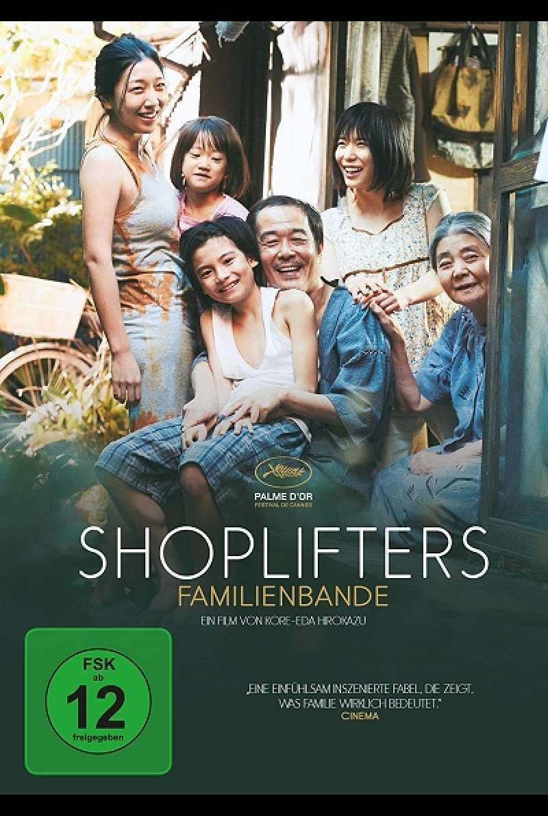 Shoplifters - Familienbande - DVD-Cover