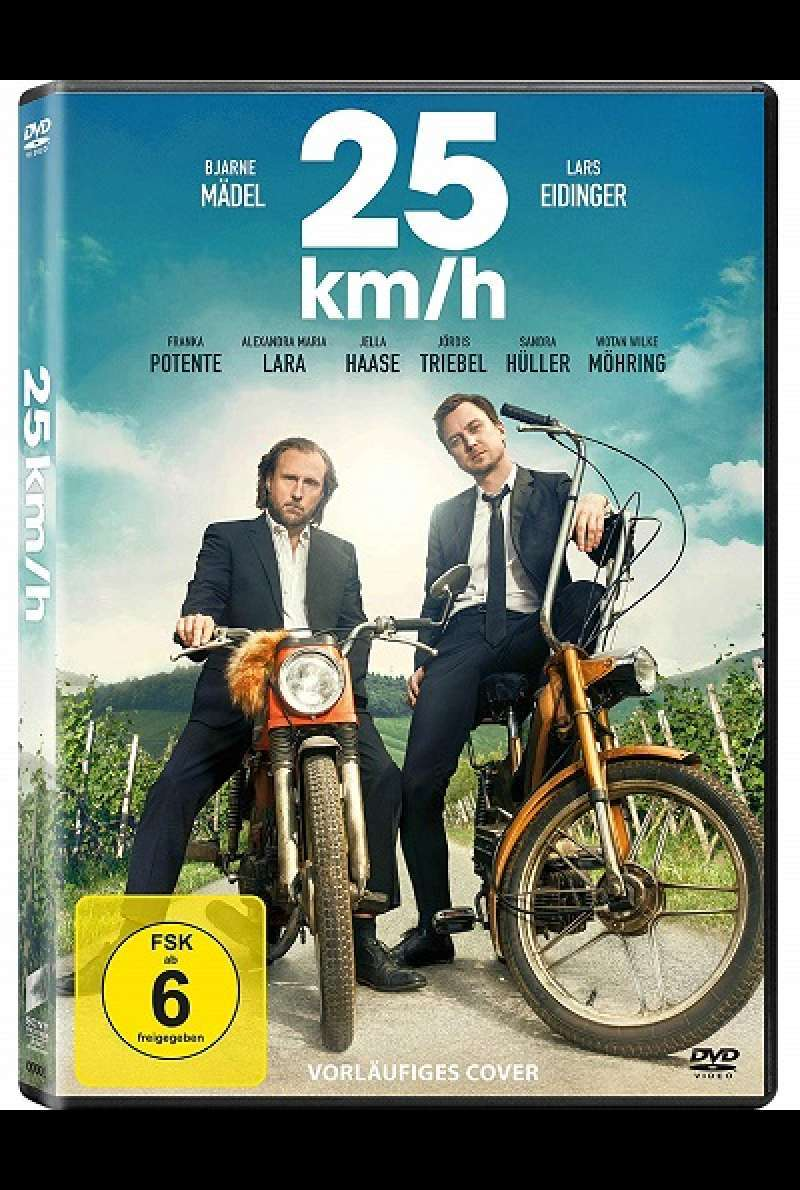 25 km/h - DVD-Cover