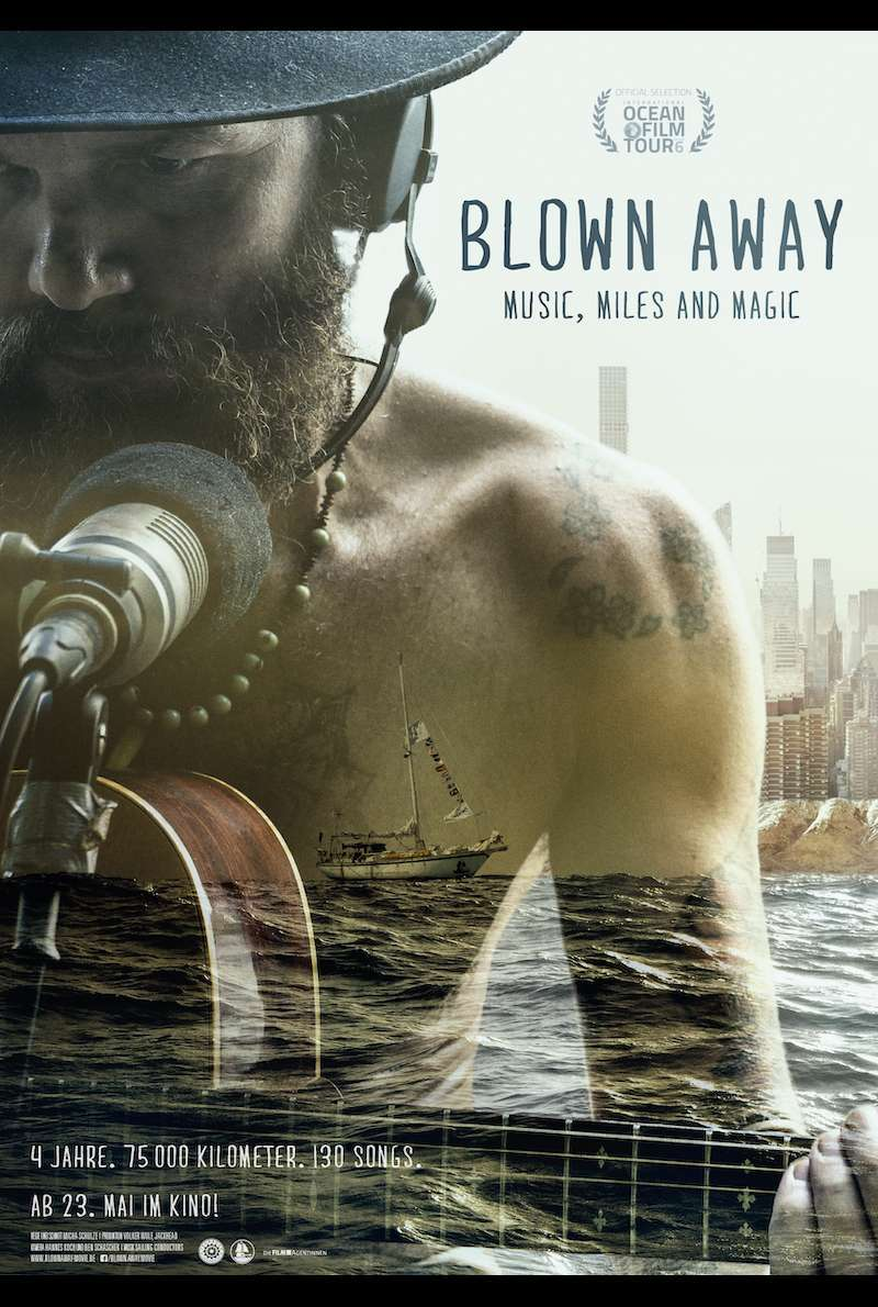 Filmplakat zu Blown Away - Music, Miles and Magic (2019)