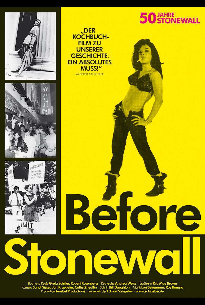 Filmplakat zu Before Stonewall (1984)