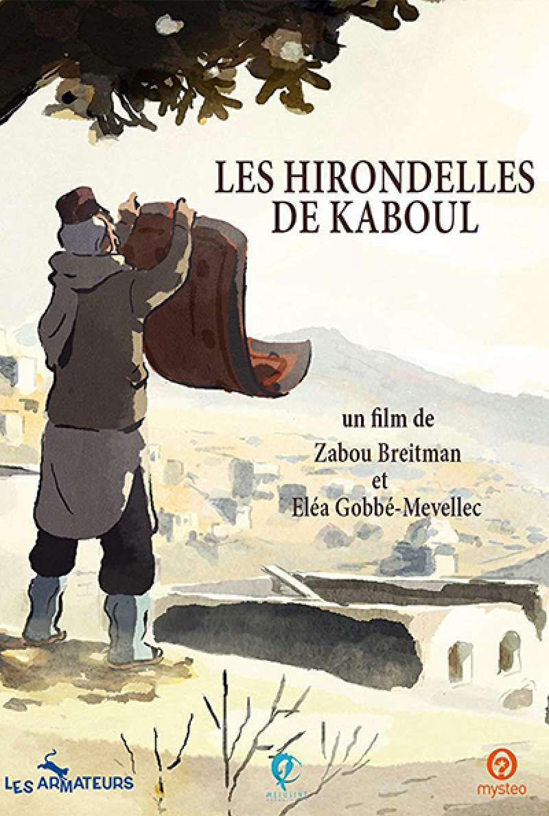 Bild zu The Swallows of Kabul von Zabou Breitman, Eléa Gobbé-Mévellec