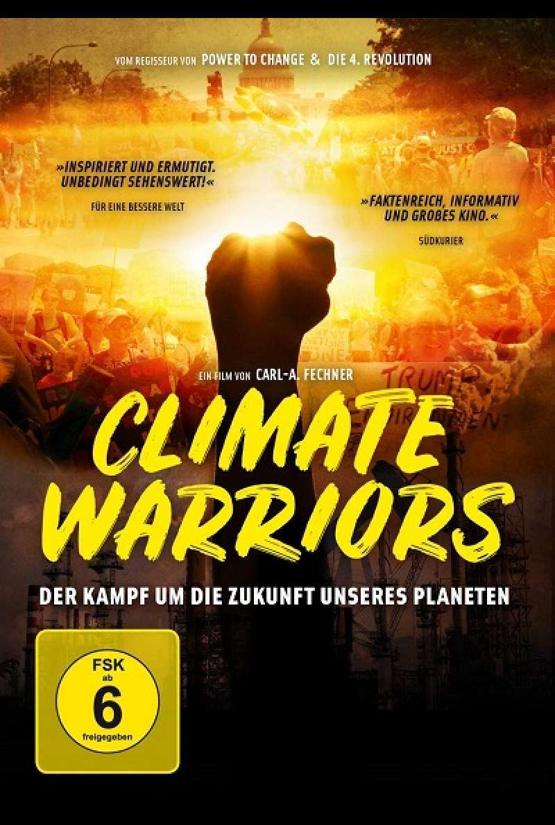 Climate Warriors - DVD-Cover