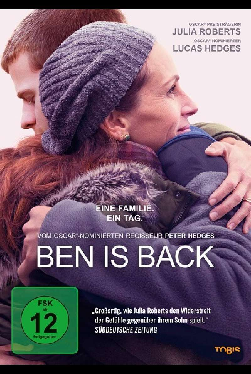 Ben is back - DVD-Cover