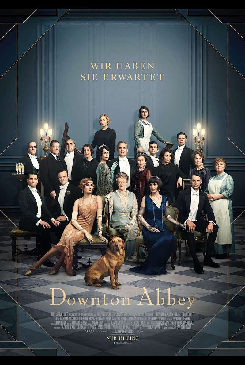 Filmplakat zu Downton Abbey (2019)