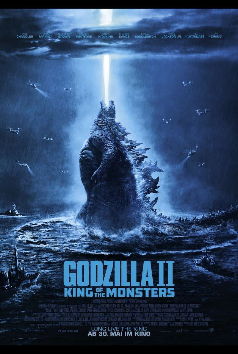 Filmplakat zu Godzilla: King of Monsters (2019)