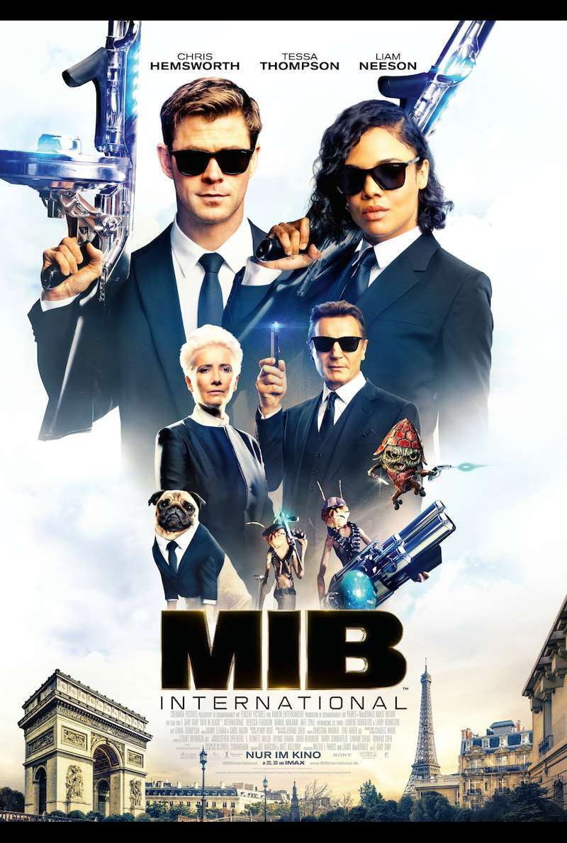 Filmplakat zu Men in Black: International (2019)